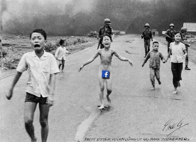 Napalm Girl oder Facebook die Weltgeschichte sieht